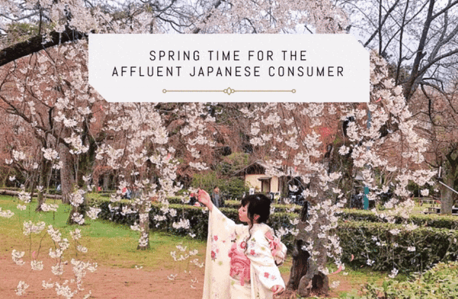 NEWSLETTER Spring Time for the Affluent Japanese Consumer